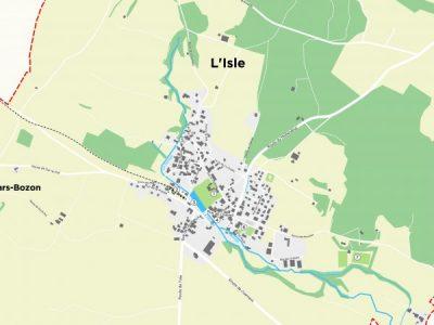 Plan de ville – L'Isle
