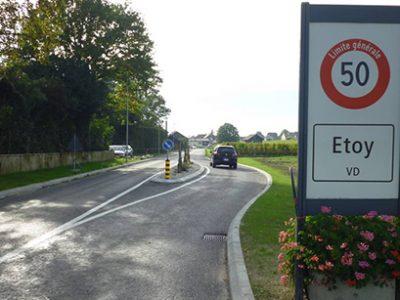 Etoy – Route de Villars