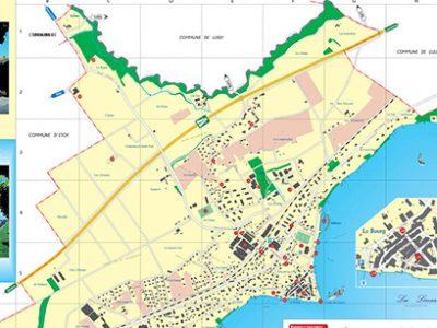 Plan de ville – Saint-Prex