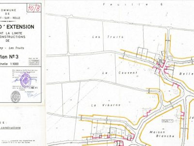 Limites des constructions – Mont-sur-Rolle