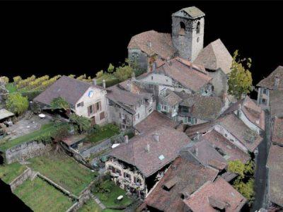 Relevé de toitures – Saint-Saphorin